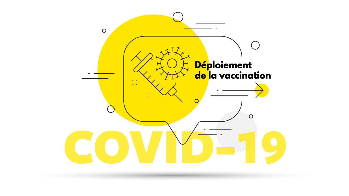 Déploiement de la vaccination COVID-19 dans le monde